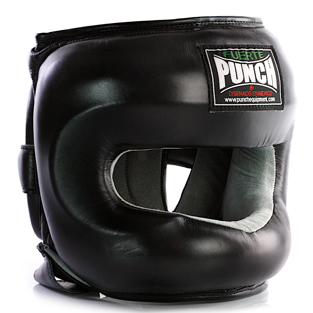 Ultra Nose Protector Head Gear in Black