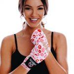 Womens Stretch Hand Wraps Lips 2