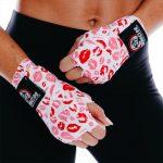Womens Stretch Hand Wraps Lips 4