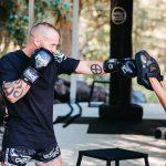 Black Diamond Boxing Glove Lifestyle