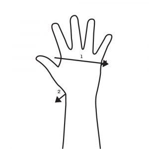 Wrist Wrap Knuckles To Wrist