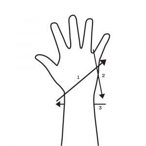 Wrist Wrap Pinky X
