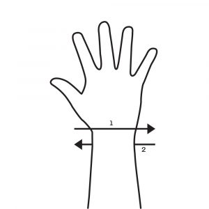Wrist Wrap Wrists