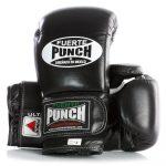 Black Fuerte Ultra Boxing Gloves