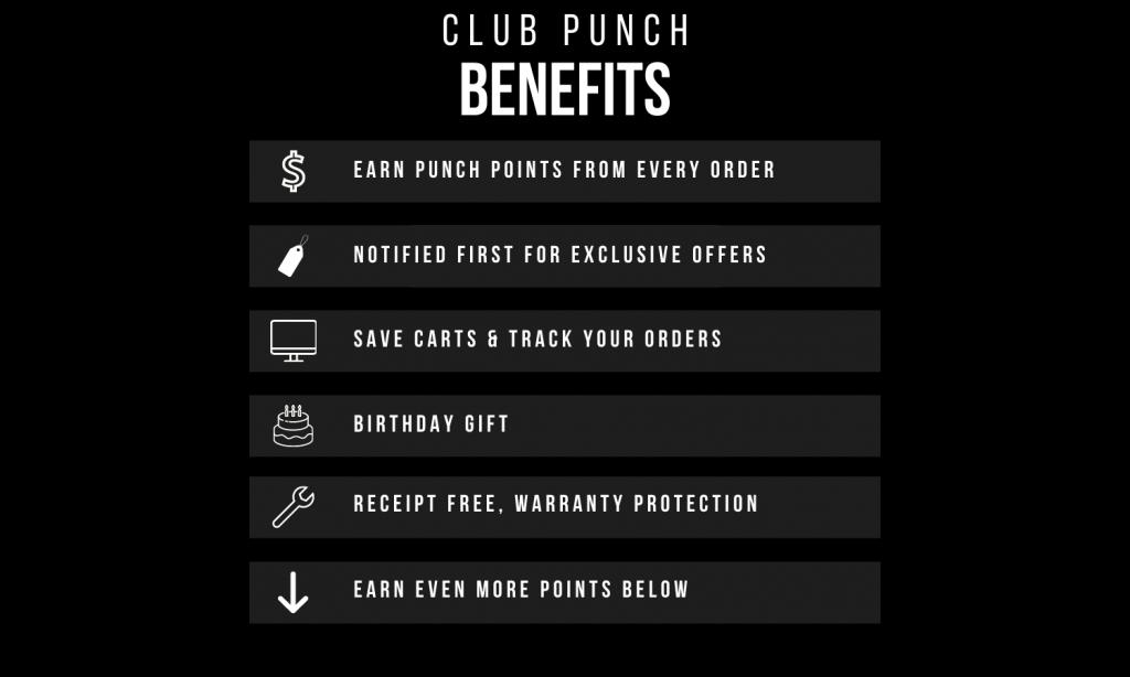 Club Punch Benefits
