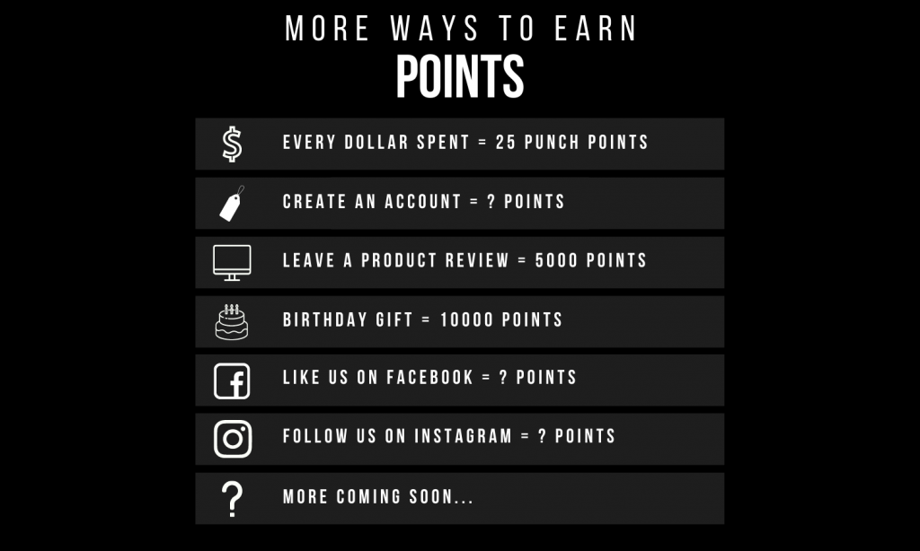 More Ways To Earn Points