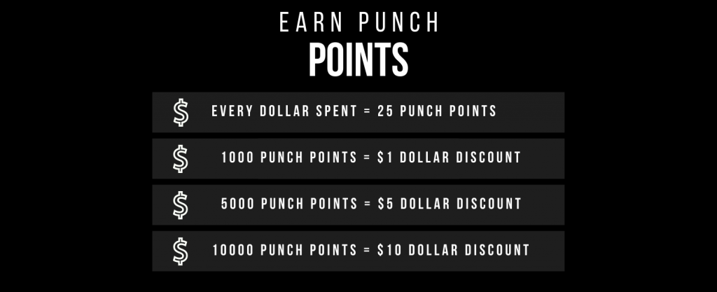 Earn Punch Points