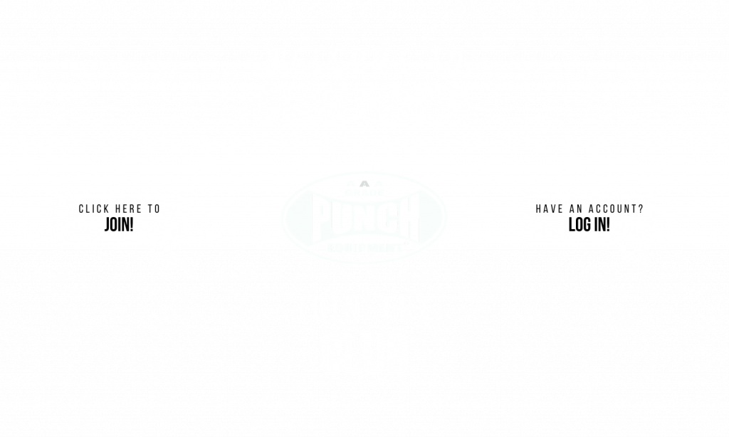 Landing Page For Club Punch