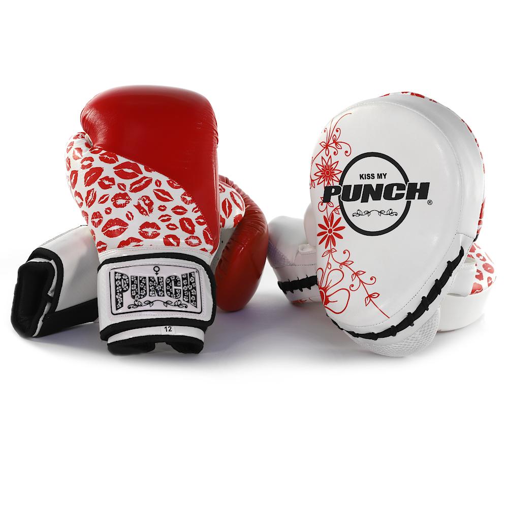 Womens Red Lip Art Boxing Combo Pack
